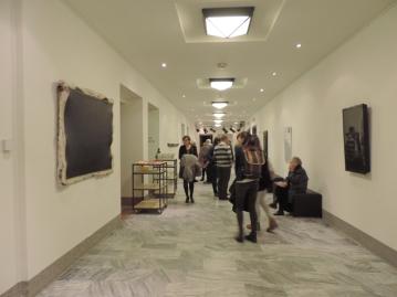 vernisáž výstavy Pseudomalba